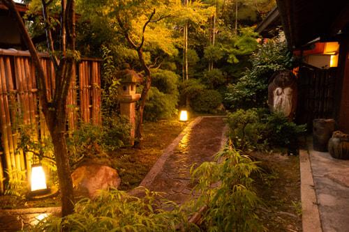 小川亭の庭